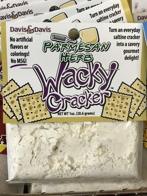 Wacky Cracker Parmesan Herb