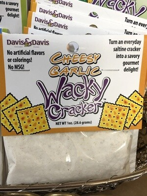 Wacky Cracker Cheesy Garlic