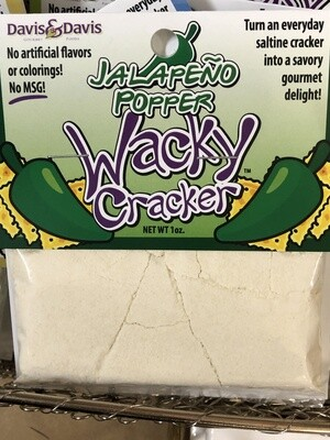 Wacky Cracker Jalapeno Popper