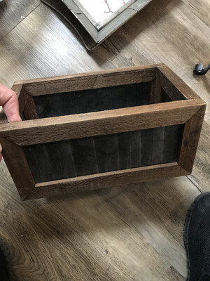 Rectangle Metal\Wood Box