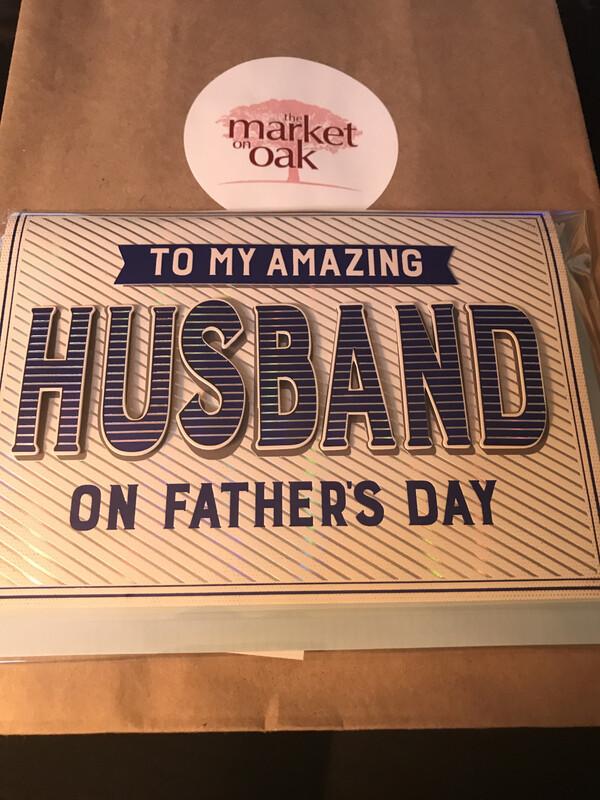Husband on Diagonal Stripes