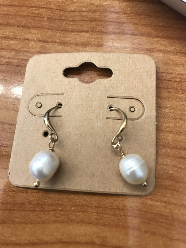 Gold Pearl Drops