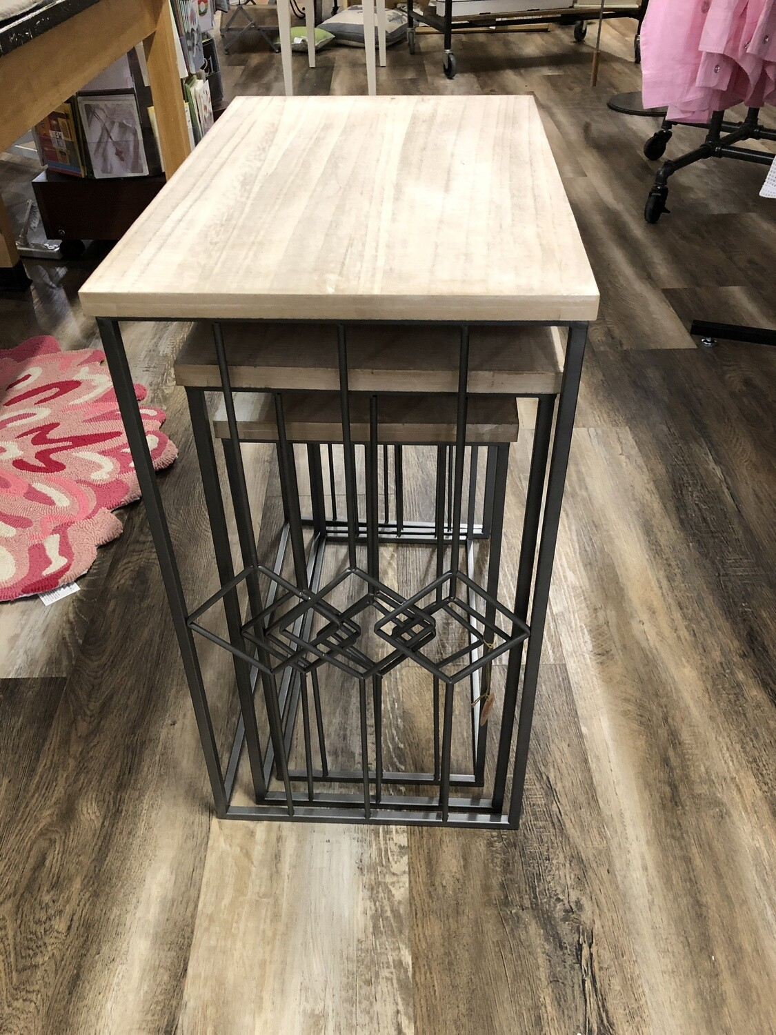 Nested Metal Table Set