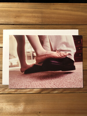 Dancing Feet Father's Day Card