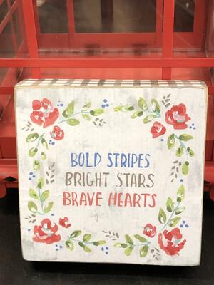Bold Bright Brave