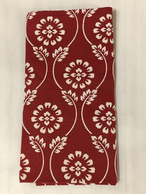 square red napkin