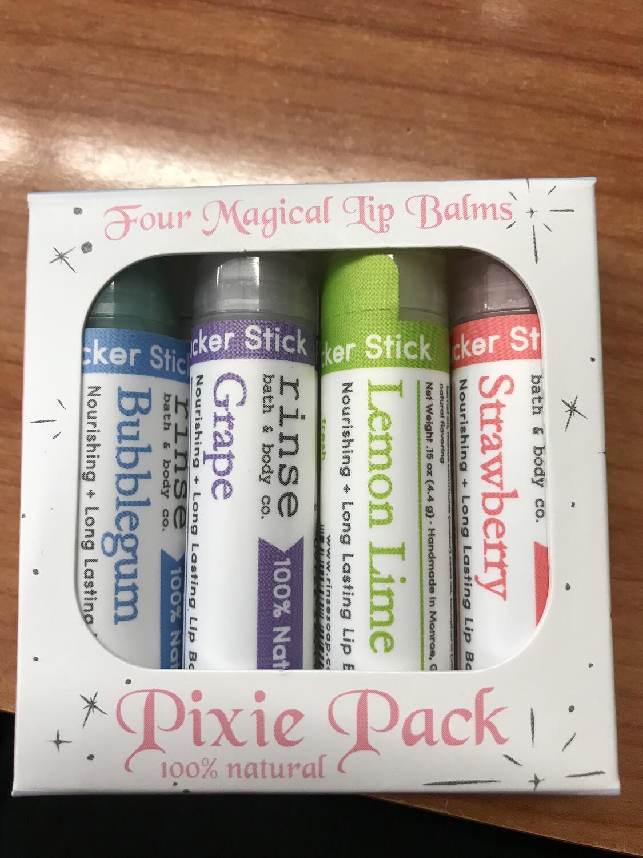 Pixie Pack Lip Balms