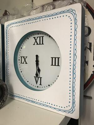Lg Doodle Wall Clock