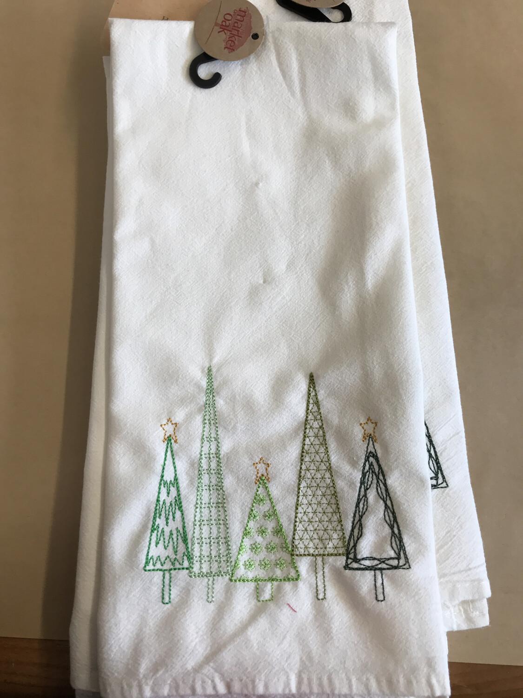 Evergreens Tea Towel