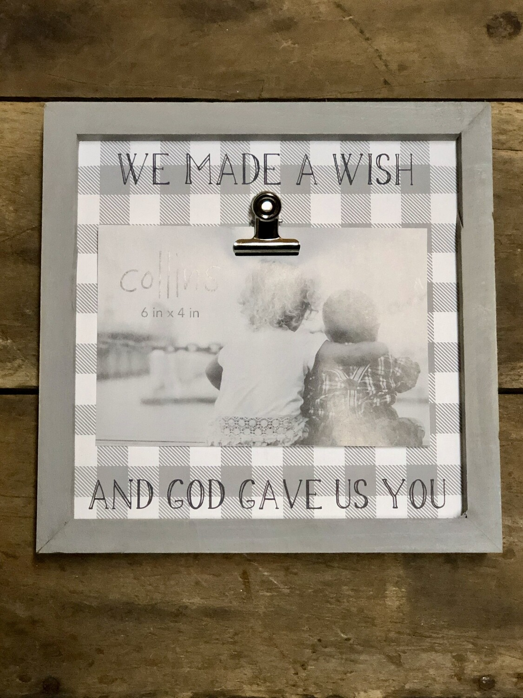 We Made A Wish...