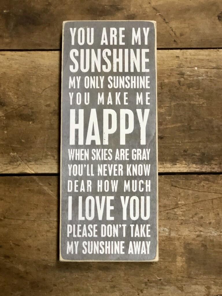 Gray My Sunshine