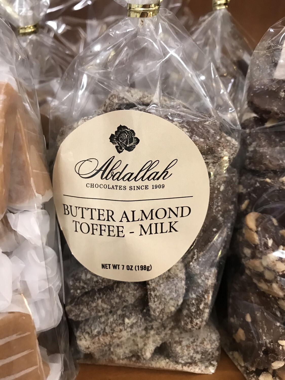 Butter Almond Toffee Milk