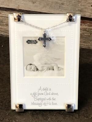 Baptism Clip Frame