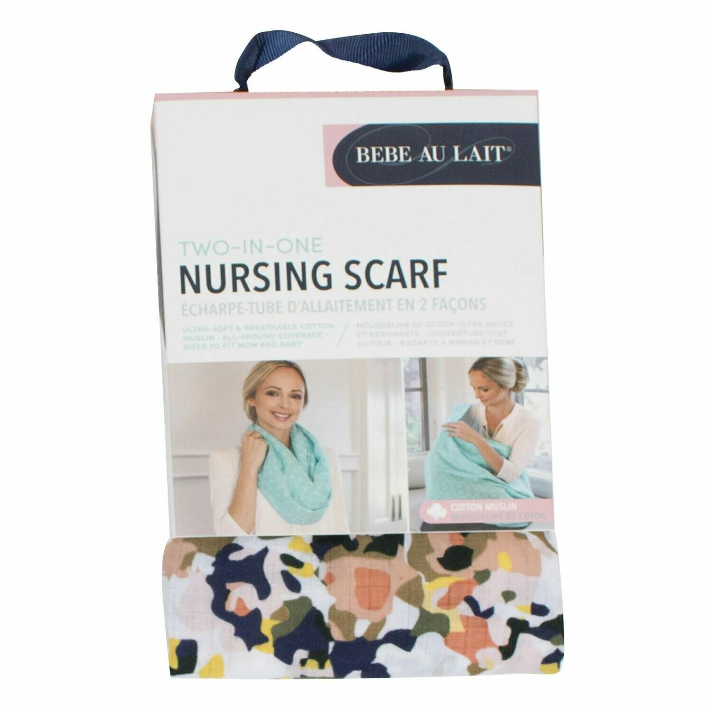 Indigo Nursing Scarf