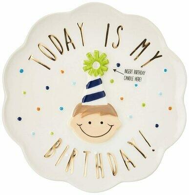 Boy Birthday Plate