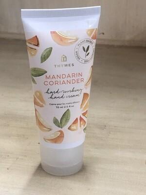 Mandarin Coriander Hand Cream