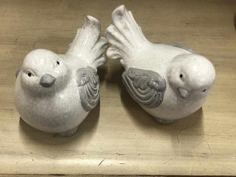 Bird w/Silver wing
