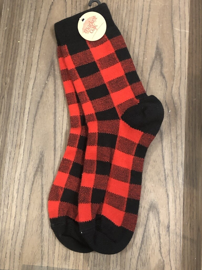 Buffalo Plaid Socks