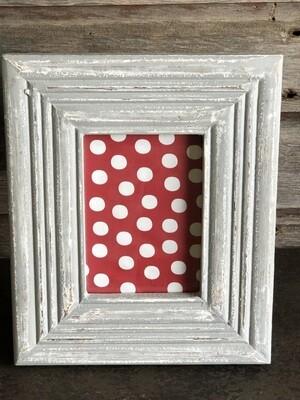 Distressed Gray Wash Frame 5x7