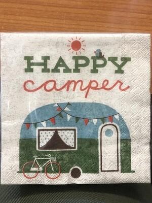Vintage Happy Camper - Bev
