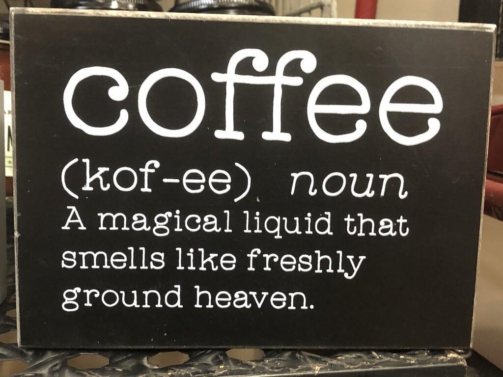 Coffee Definition