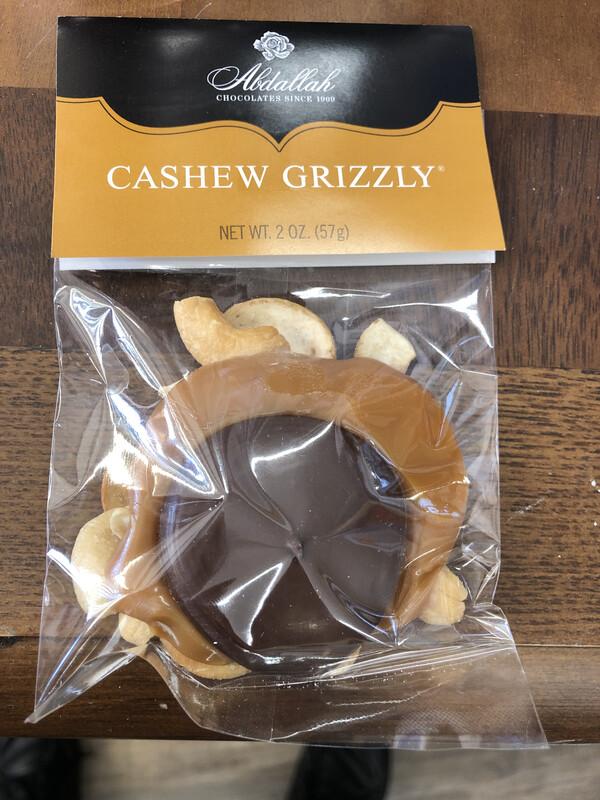2oz Cashew Grizzly