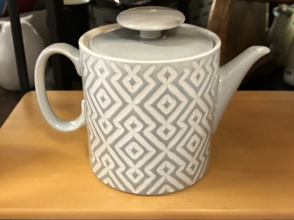 Teapot Gray Diamante