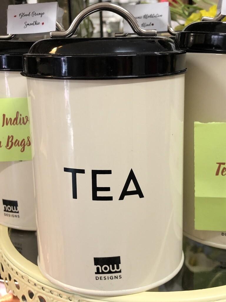 Ivory Tea Tin