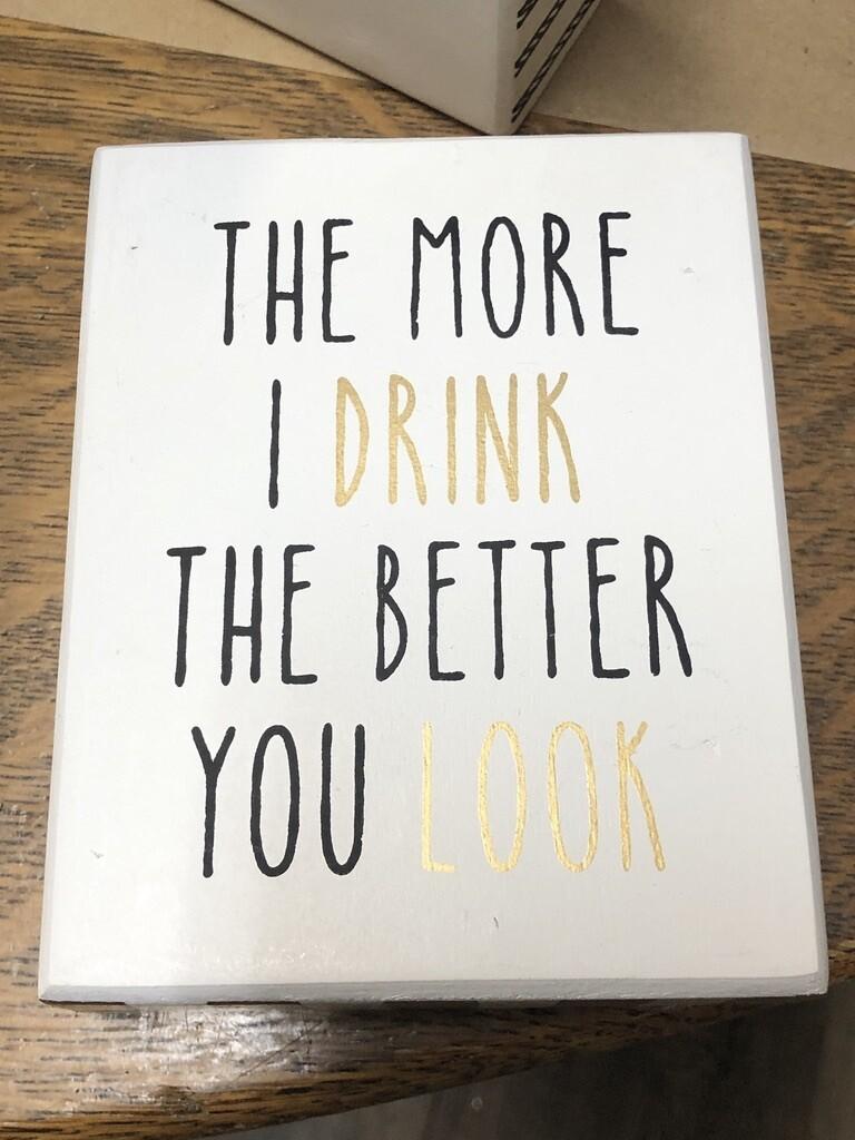More I Drink