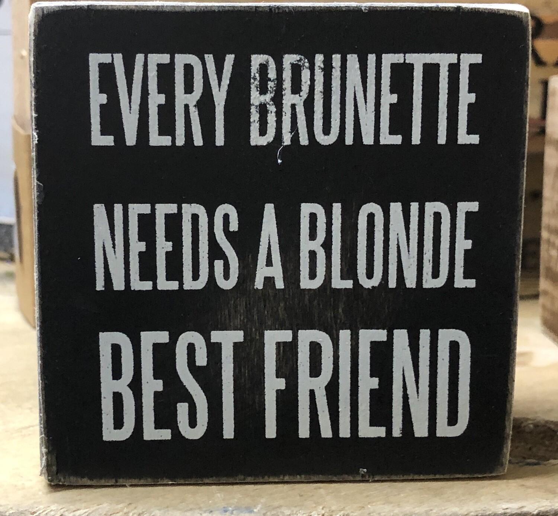 Every Brunette