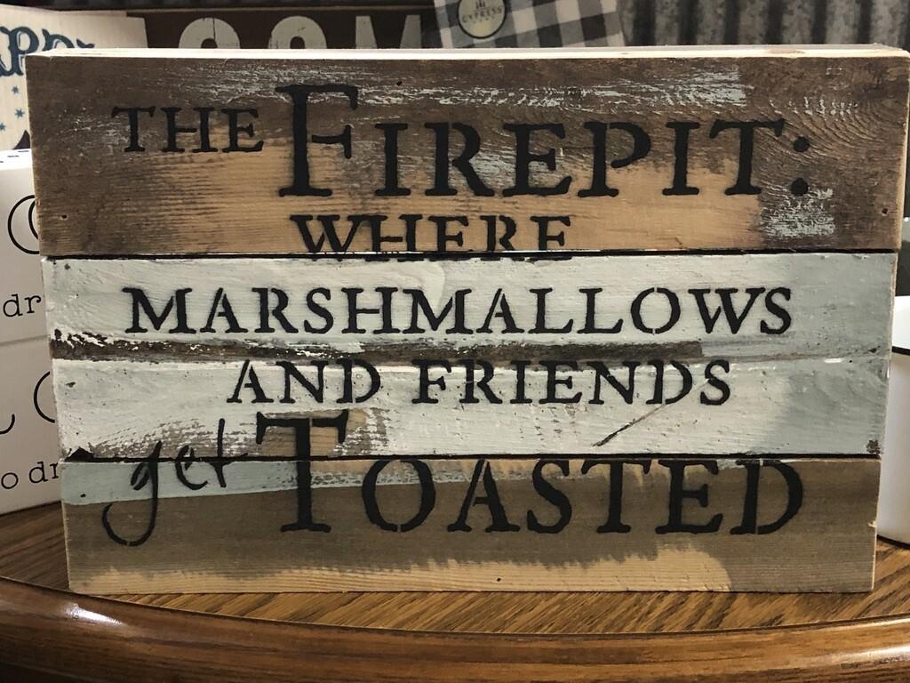 Wood Fire Pit