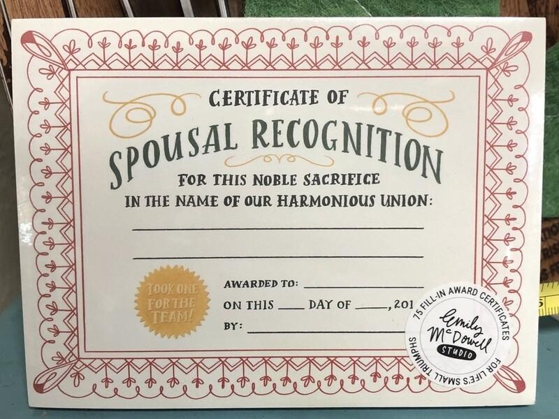 Spousal Recognition