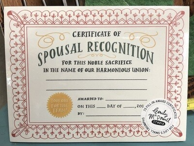 Spousal Recognition