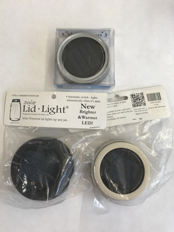 Solar Lid Lights