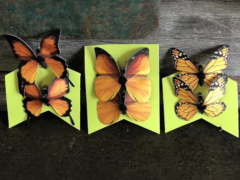 Butterfly Set/2 Clip