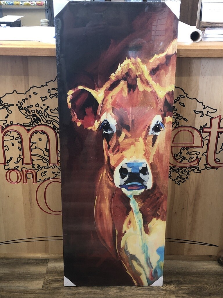 Tall COW Canvas