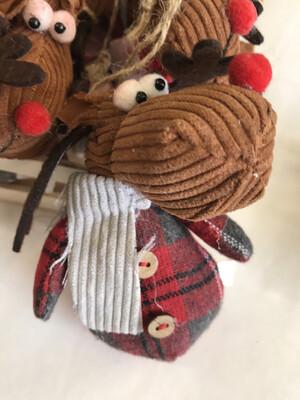 Corduroy Reindeer