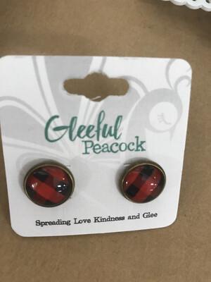 Buffalo Plaid Earring
