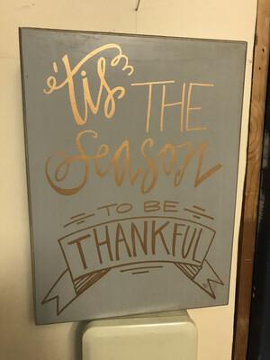 Season to be Thankful