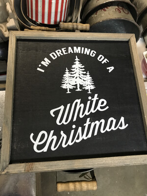 I'm Dreaming of a White...