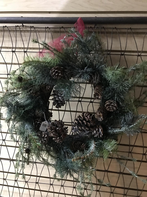 Iced Pine Wreath