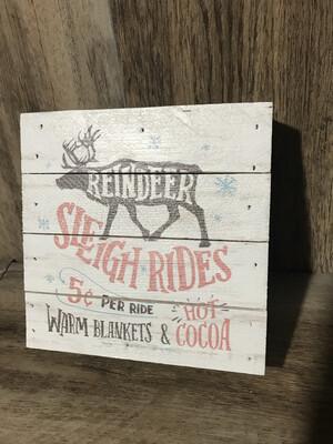 Reindeer Block