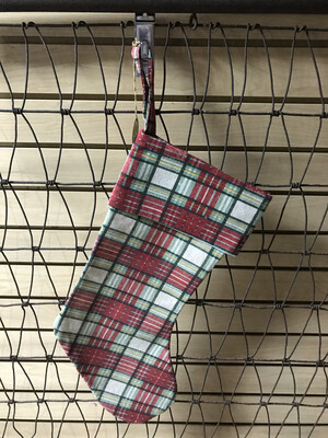 Plaid Stocking