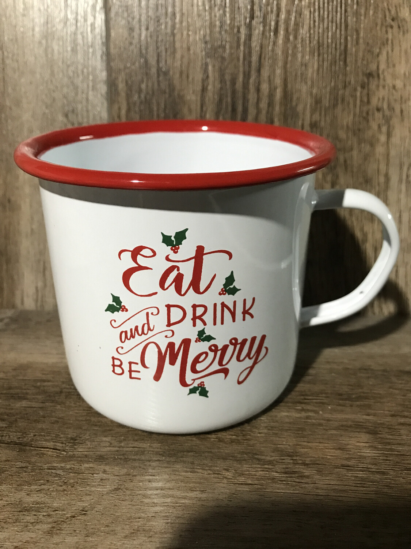 Metal Eat & Drink Mug