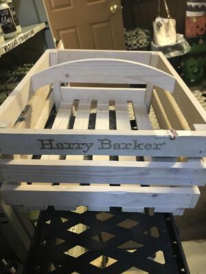 Wooden Toy Basket