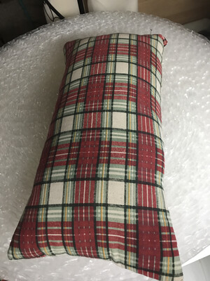 Plaid Pillow