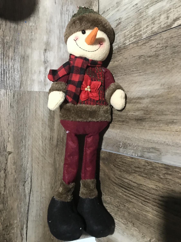 Tweed Snowman