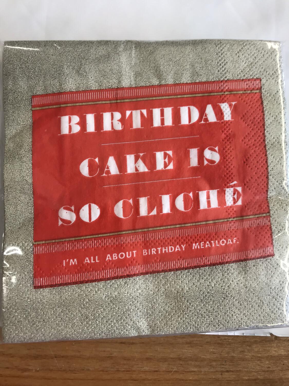 Cake is Cliche