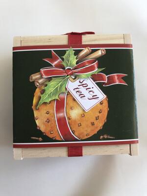 Orange Cloves Tea Box