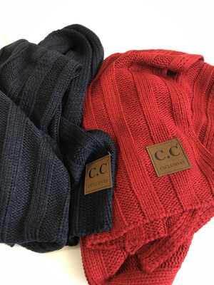 CC Rib Knit Oblong